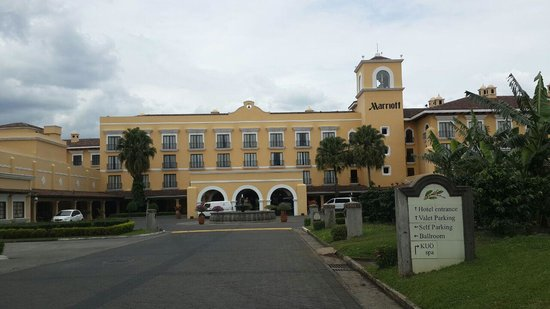 Costa Rica Marriott Hotel San Jose: Una vista del frente