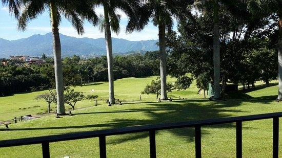 Costa Rica Marriott Hotel San Jose : Desde el salón desayunador