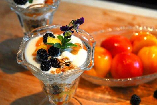 A la Chouette : Croustillant aux fruits de saison