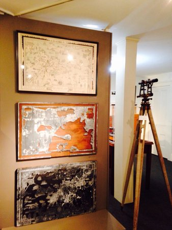 John Paul Jones House : Map Room