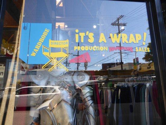 LA Insider Tours: It's a Wrap Shopping spot