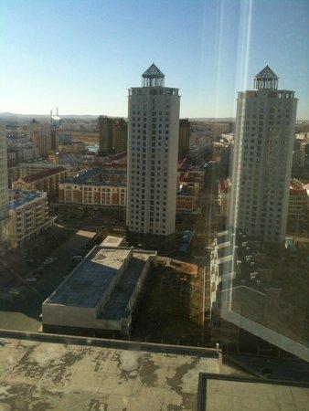 Shangri-La Hotel Manzhouli: Вид из окна
