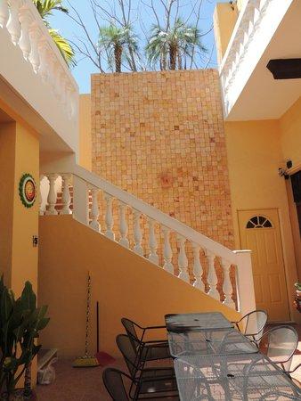 Hotel del Peregrino: Inside