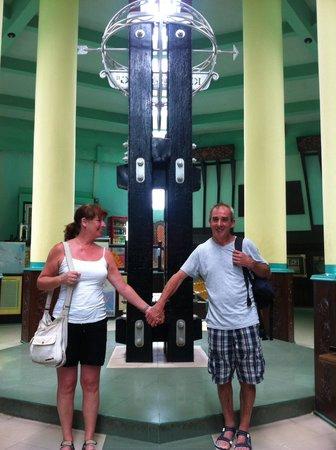 Aston Pontianak Hotel & Convention Center : Equator monument