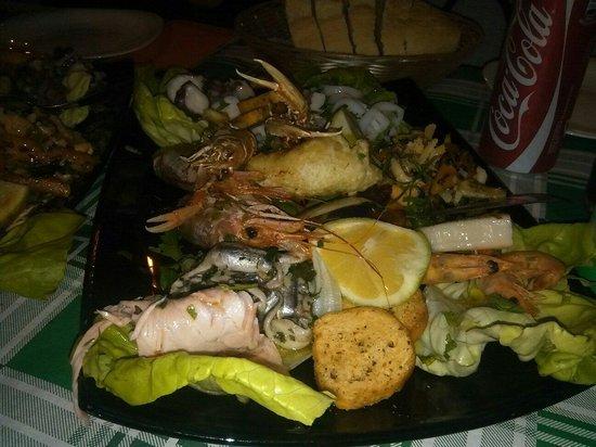 Osteria Del Tempo Perso: Pesce!!!