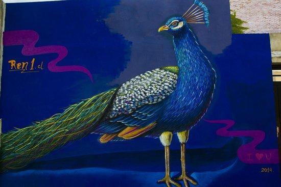 BA Street Art Tours: Peacock