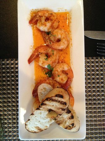 Hartsburg, MO: Beautifully presented Garlic Shrimp