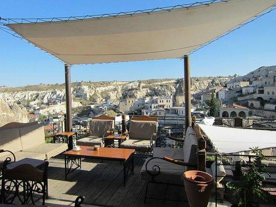 Kelebek Special Cave Hotel: gazebo