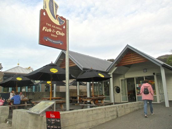 Akaroa Fish and Chips: The shop