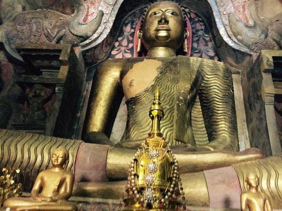 Temple of the Gadaladenia : Buddha