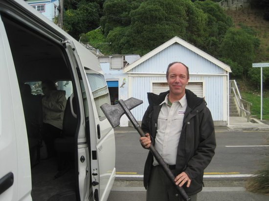 Wellington Rover Tours : Our Amazing Tour Guide
