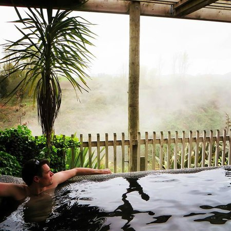 Waikite Valley Thermal Pools: Relaxing afternoon