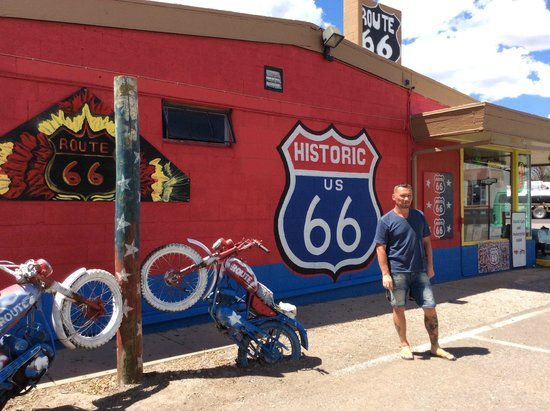 Travelodge Flagstaff: Трасса 66