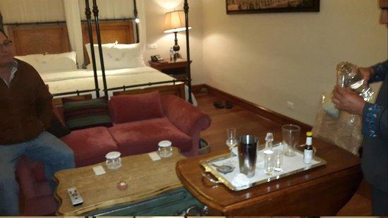 Belmond Palacio Nazarenas : Clases de preparacion Pisco
