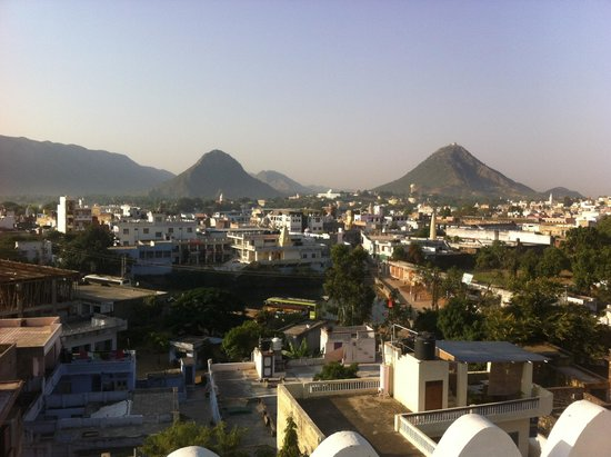 Atithi Guest House Pushkar: Amazing view from the Atithi guest house