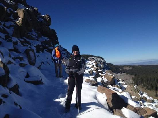 Grand Junction, CO: Ridge line with snow