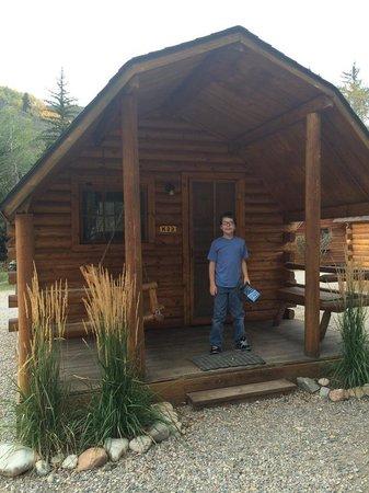 Snake River Park KOA and Cabin Village: Owen in Jackson Hole/ Snake River KOA