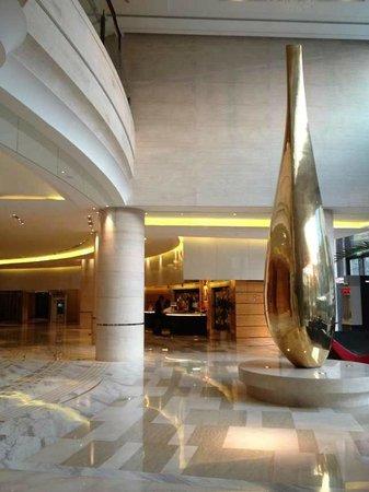 Hotel Nikko Shanghai: エントランスロビー