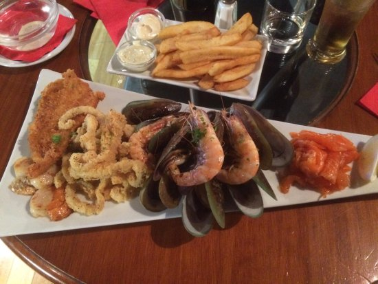 The Reef Steak And Seafood Restaurant Platter For One