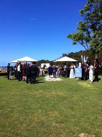 Anchorage Port Stephens: First rate venue, wedding or holiday!