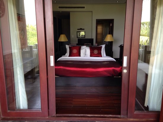 Ana Mandara Hue: Bedroom from the balcony