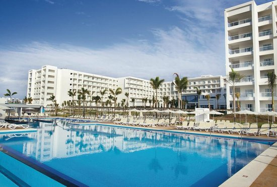 Hotel Riu Playa Blanca: Panoramic view