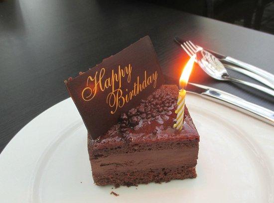 birthday cake picture of atrium restaurant perth tripadvisor on birthday cakes in perth cbd