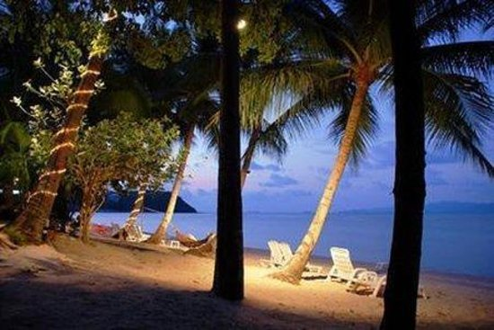 Como Resort Koh Samui: beach in the evening