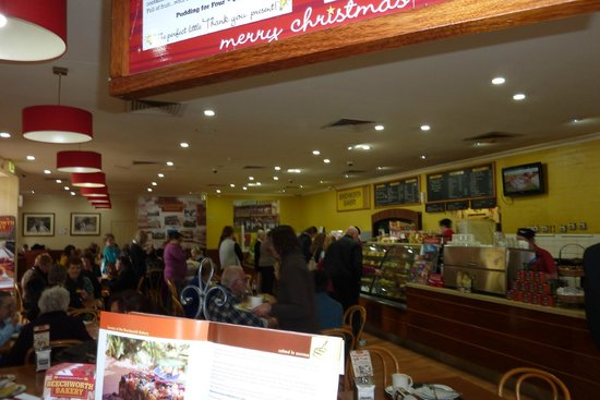 Beechworth Bakery: Lots of customers, but fast service