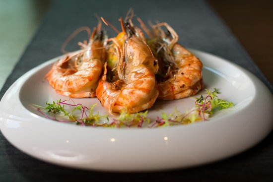 Black tiger shrimps bild von wabi sabi restaurant for Cuisine wabi sabi