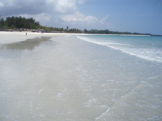 Kipepeo Beach Village : Strand