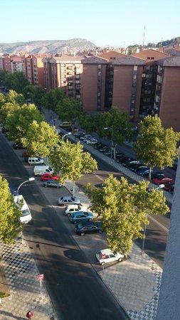 NH Ciudad de Cuenca: Las vistas eran bonitas y tranquilas