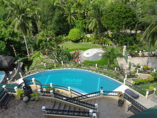 The Manor at Puerto Galera: view of estate from room