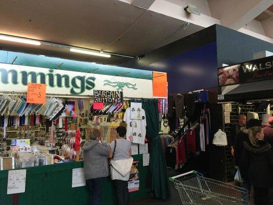 Bury Market: Bargain Buttons