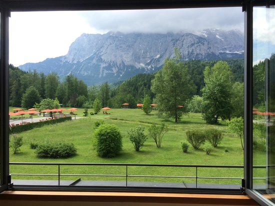 Schloss Elmau: A room with a view