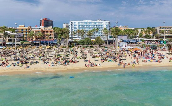 Hotel Riu Bravo Playa De Palma Mallorca Islas Baleares Spain