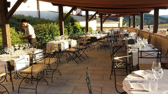 Bagnaia, Itália: Pool Bar Terrace