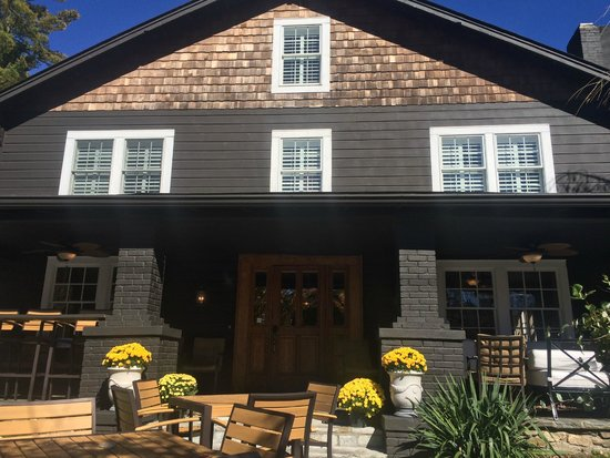 The New Public House: Fall in Blowing Rock