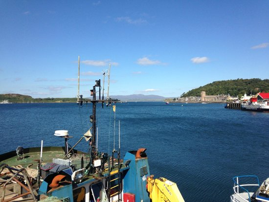 West Highland Line : Oban Harbour