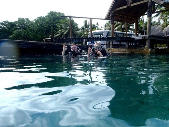 Santo Island Dive and Fishing: Beach dive!