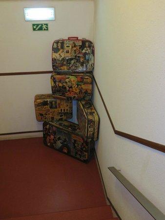 Residencial Mar e Sol: Escalier montant aux chambres
