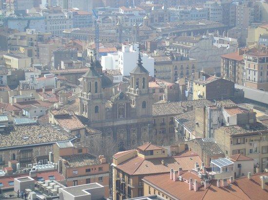 Ascensor del Pilar: Vistas desde el Pilar