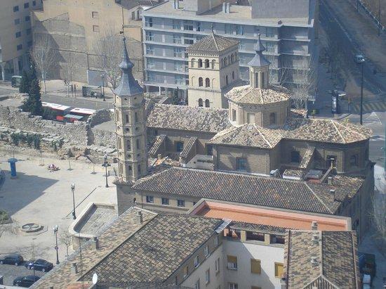 Ascensor del Pilar: Vistas desde la torre de El Pilar