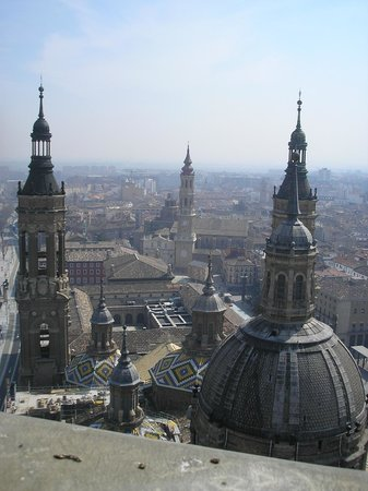 Ascensor del Pilar: Vistas de Zaragoza desde El Pilar
