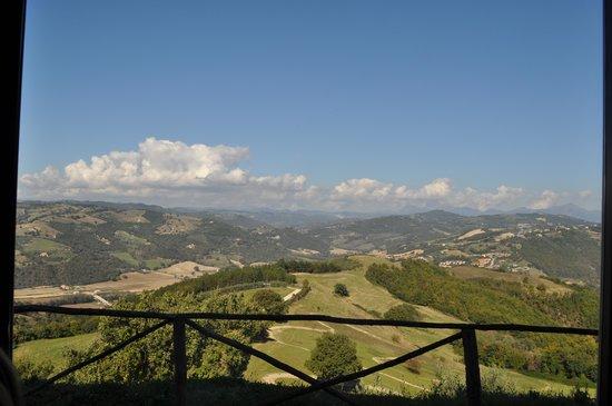 panorama da agriturismo la terrazza valfabbrica - Foto di ...