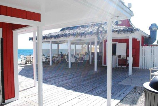 Old Bahama Bay : Bar de la plage