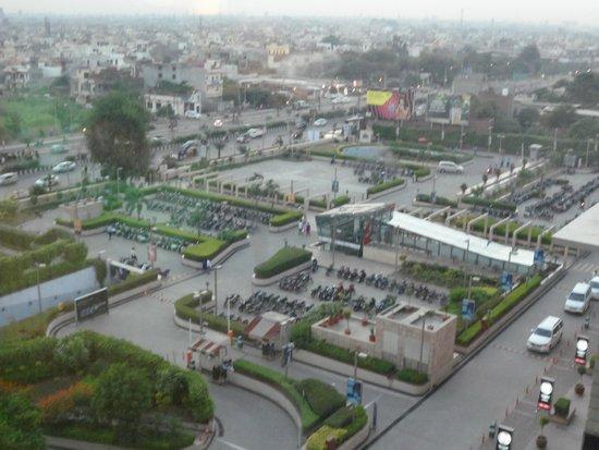 Hyatt Amritsar: view from the room