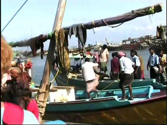 Al Hudaydah, Jemen: Veduta del porto