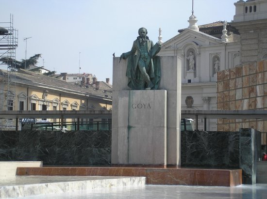 Monumento a Goya: Goya