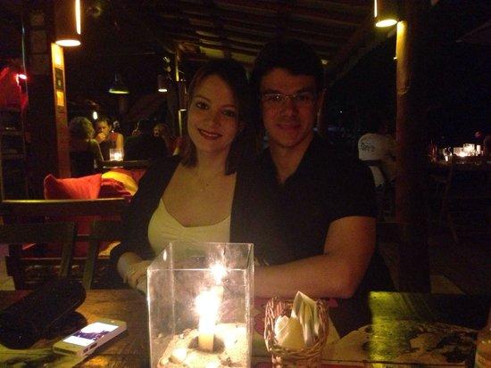 Restaurante La Luna: Jantar a dois...